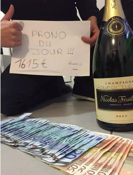 Remerciement d'un membre, mars 2015 pick 5 à 1 615 €