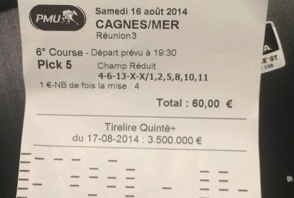 3816,40 € de gains.