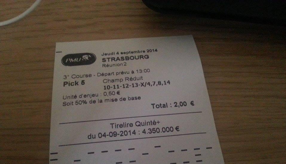 36 € pour 2 € de mise..