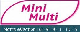 Sélection mini multi